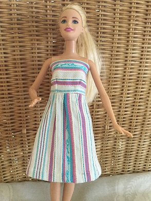 Barbie shrug and dress 3