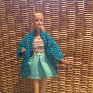 Barbie coat and dress 1