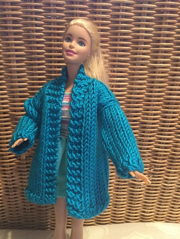 Barbie coat and dress 2