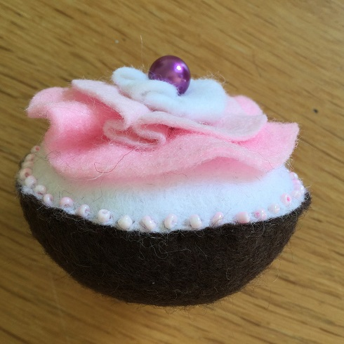 Felt cake 2