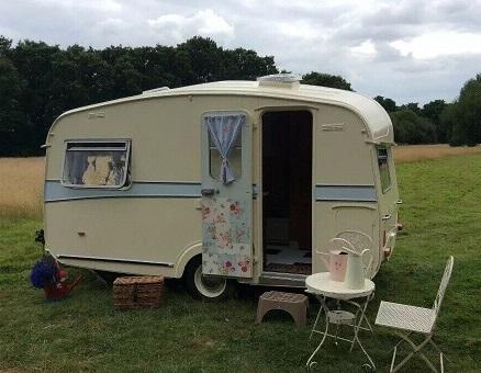 Vintage caravan 1