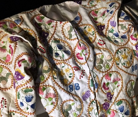 Scotland Culross_crewelwork_jacket_