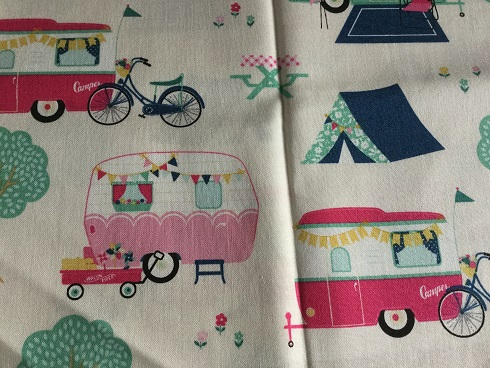 Campervan fabric