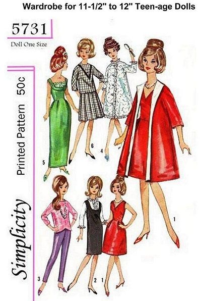 Barbie Patterns 1