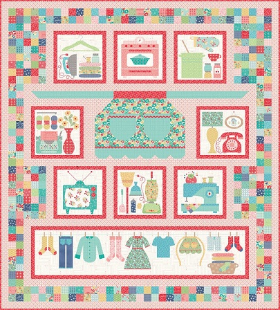 Vintage Housewife Quilt 1