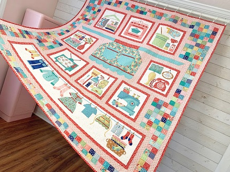 Vintage Housewife Quilt 3
