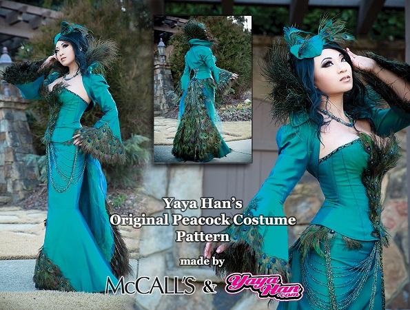 Yaya Han Peacock costume