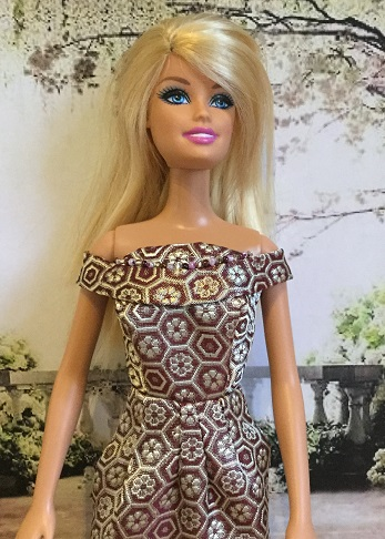 Barbie - hexagon dress 2