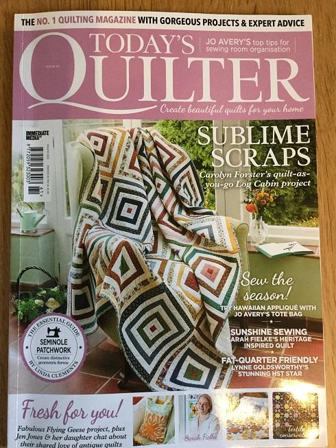 April Quilt Mag