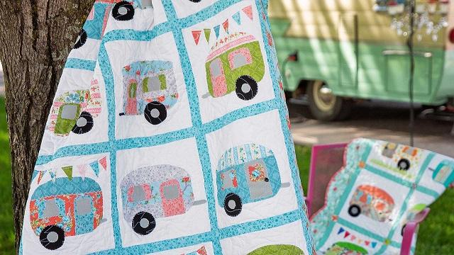 Cute Camper quilt