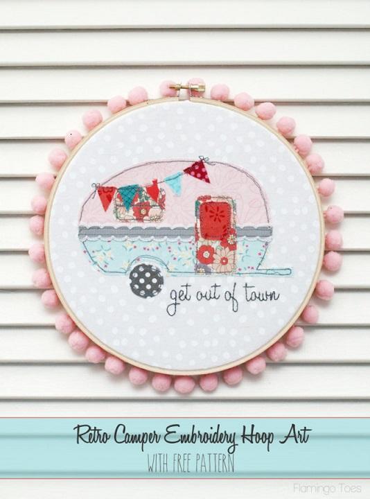 Retro-Camper-Embroidery-Hoop-Art