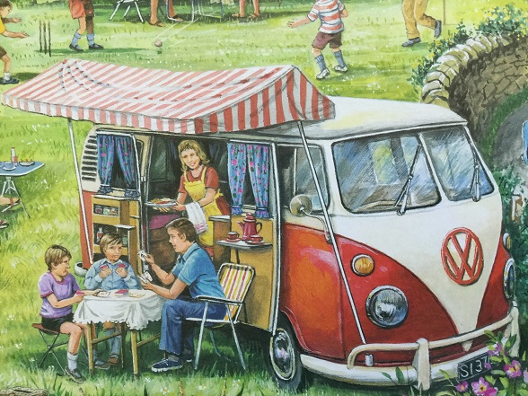 Camping puzzle 2