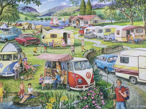 Camping puzzle 3