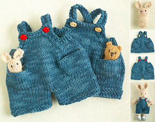 LCR Dungarees pattern