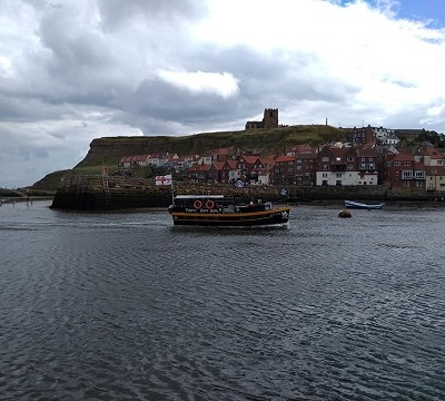 Whitby boat trip 5
