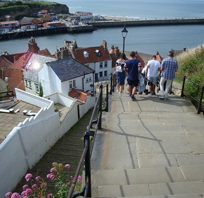 Whitby steps 1